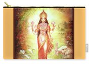 Lakshmi Goddess Of Fortune And Prosperity Carry-all Pouch