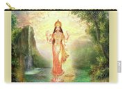 Lakshmi With The Waterfall 2 Carry-all Pouch