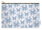 Lalabutterfly Blue Wedgewood Reverse Carry-all Pouch