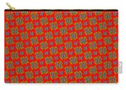 Lalabutterfly Red Reduced Scale Carry-all Pouch