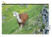 Lama In Geiranger Carry-all Pouch