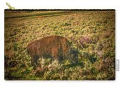 Lamar Valley Buffalo Carry-all Pouch