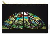 Lamb Stained Glass Window Carry-all Pouch