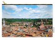 Lamberti Tower View Of Verona Italy Carry-all Pouch