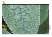 Lambs Ear Leaf Carry-all Pouch