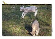 Lambs Frolicking Carry-all Pouch