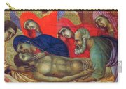Lamentation Of Christ Fragment 1311 Carry-all Pouch