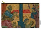 Lamentation Of The Dead Christ Carry-all Pouch