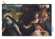 Lamentation Over The Body Of Christ 1517 Carry-all Pouch