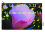 Lamentations His Compassions Never Fail Carry-all Pouch