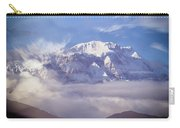 Lamjung Himal Peak Above The Clouds Carry-all Pouch