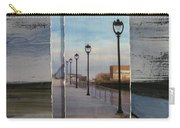 Lamp Post Row Layered Carry-all Pouch
