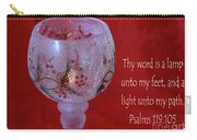 Lamp Unto My Feet Carry-all Pouch