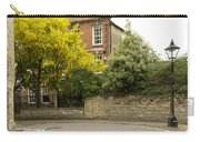 Lamppost On A Street Bend. Carry-all Pouch
