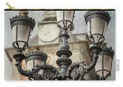 Lamppost Plaza Mayor Madrid Spain Carry-all Pouch