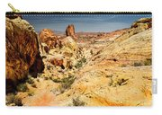 Land Of Sandstones Valley Of Fire Carry-all Pouch