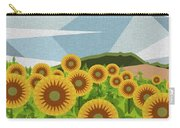 Land Of Sunflowers. Carry-all Pouch