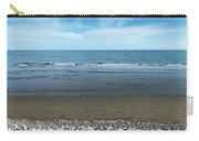 Land Sea And Ocean Background Carry-all Pouch