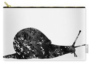 Land Snail-black Carry-all Pouch