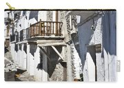 Street In Capileira Puebla Blanca Carry-all Pouch