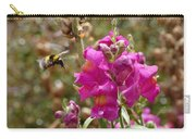 Landing Bumblebee Carry-all Pouch by Ivana Westin