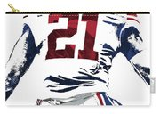 Landon Collins New York Giants Pixel Art 1 Carry-all Pouch