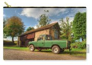 Landrover And The Barn Carry-all Pouch