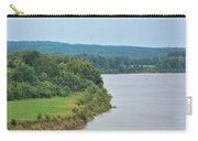 Landscape Along The Tennessee River At Shiloh National Military Park, Tennessee Carry-all Pouch