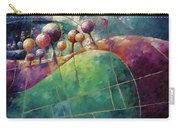 Landscape And Trees In Purple Carry-all Pouch