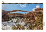 Landscape Arch - Arches National Park Moab Utah Carry-all Pouch