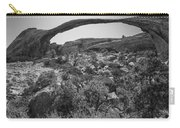 Landscape Arch Bw Carry-all Pouch