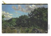 Landscape At Chailly Carry-all Pouch