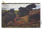 Landscape At Rhug Carry-all Pouch