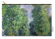 Landscape At Sevres Carry-all Pouch by Alfred Sisley
