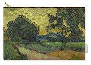 Landscape At Twilight Auvers Sur Oise June 1890 Vincent Van Gogh 1853  189 Carry-all Pouch
