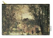 Landscape Carry-all Pouch by Charles Francois Daubigny