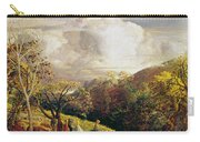 Landscape Figures And Cattle Carry-all Pouch
