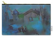 Landscape In Blue Carry-all Pouch