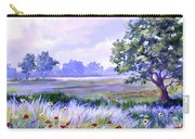 Landscape In Blues Carry-all Pouch