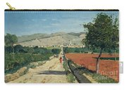 Landscape In Provence Carry-all Pouch by Paul Camille Guigou