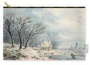 Landscape In Winter Carry-all Pouch