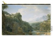 Landscape Of Ancient Greece Carry-all Pouch