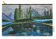 Landscape Of Tranquility And Storms  Carry-all Pouch