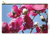 Landscape Pink Magnolia Flowers 46 Blue Sky Magnolia Tree Carry-all Pouch