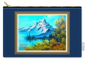 Landscape Scene Near Virginiahurst L A With Alt. Decorative Ornate Printed Frame. Carry-all Pouch
