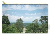 Landscape View From Preah Vihear Mountain In North Cambodia Carry-all Pouch