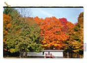 Landscape View Of Mobile Home 2 Carry-all Pouch