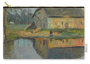 Landscape With A Barn Carry-all Pouch