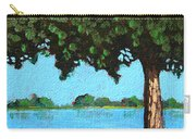 Landscape With A Lake And Tree Carry-all Pouch