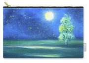 Landscape With A Moon Carry-all Pouch